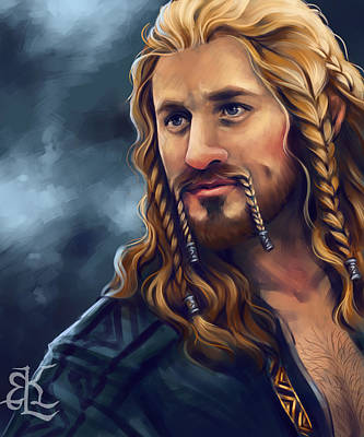 Heir Of Durin Print by Lydia Kinsey