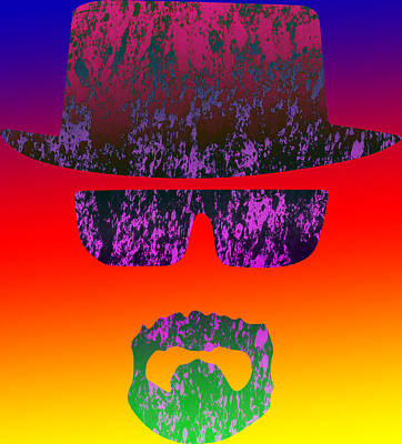 Heisenberg - 2 Print by Chris Smith