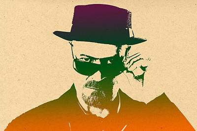 Heisenberg - 8 Print by Chris Smith