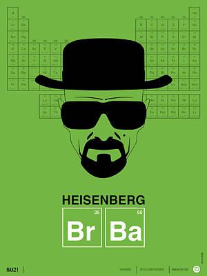 Heisenberg Poster 2 Print by Naxart Studio