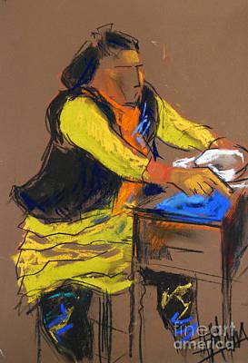 Helene #5 - Figure Series Print by Mona Edulesco