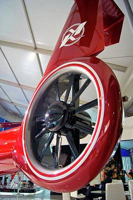 Helicopter Photograph - Helicopter Tail Rotor. by Mark Williamson