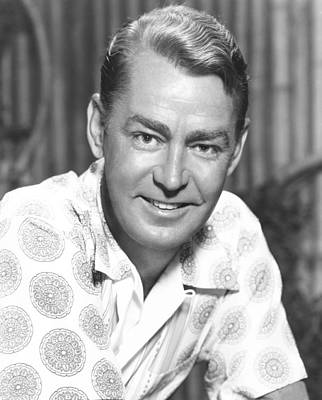 1955 Movies Photograph - Hell On Frisco Bay, Alan Ladd, 1955 by Everett