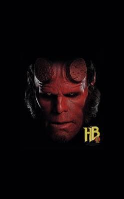 Hellboy Digital Art - Hellboy II - Hellboy Head by Brand A