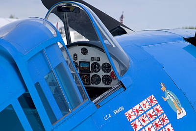Airshows Photograph - Hellcat by Adam Romanowicz