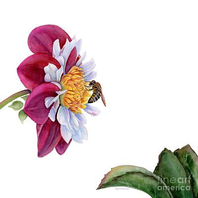 Hello My Flower Original by Amy Kirkpatrick