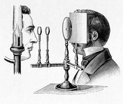 1880 Photograph - Helmholtz Ophthalmoscope by Cci Archives