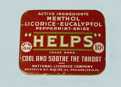 Advertising Photograph - Helps Licorice by Marilyn Hunt