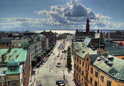 Helsingborg Photograph - Helsingborg Hdr 01 by Antony McAulay