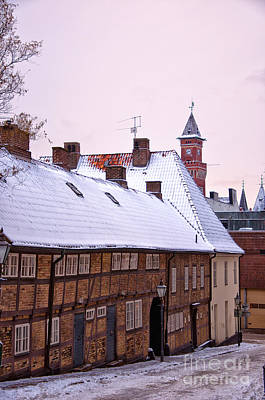 Helsingborg Photograph - Helsingborg Old Town by Antony McAulay