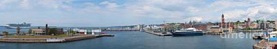 Helsingborg Photograph - Helsingborg Panorama 01 by Antony McAulay