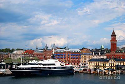 Miniature Effect Photograph - Helsingborg Tilt Shift by Antony McAulay