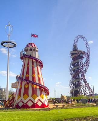 Helter-skelter Photograph - Helter-skelter And Orbit by David French