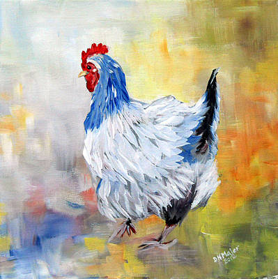 Hen Print by Dorothy Maier