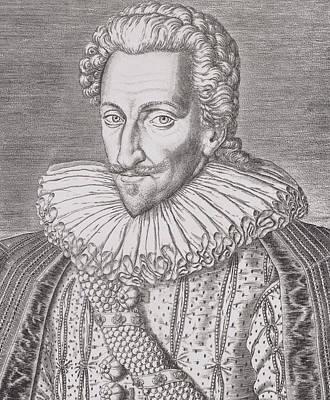 Henri Iv Print by Theodore De Bry