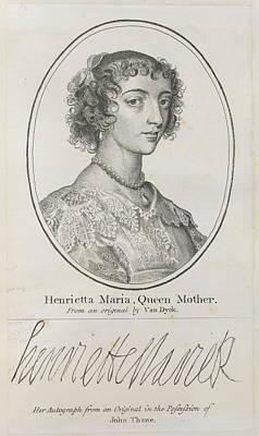 Eliza Photograph - Henrietta Maria by British Library