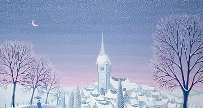 Henris Winter Innocence Print by Peter Szumowski