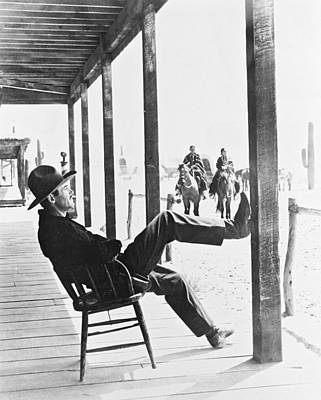 Henry Fonda In My Darling Clementine  Print by Silver Screen