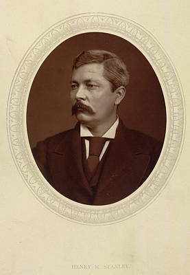 Personalities Photograph - Henry M. Stanley by British Library