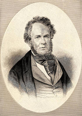 Longfellow Photograph - Henry Rowe Schoolcraft by Universal History Archive/uig