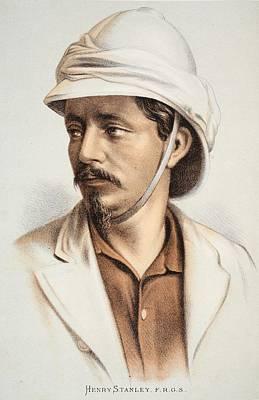 Henry Stanley Frgs, Illustration Print by English School