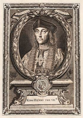 15th Century Photograph - Henry Vii by Middle Temple Library