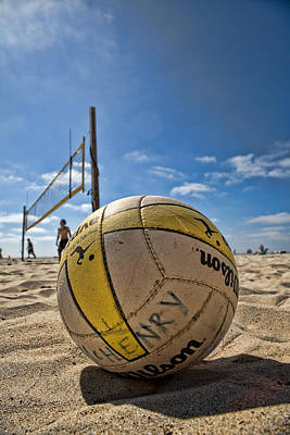 Volleyball Photograph - Henry Wilson by Peter Tellone