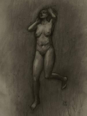 Her Lightness Print by Derek Van Derven