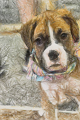 Her Name Is Lola Print by Trish Tritz