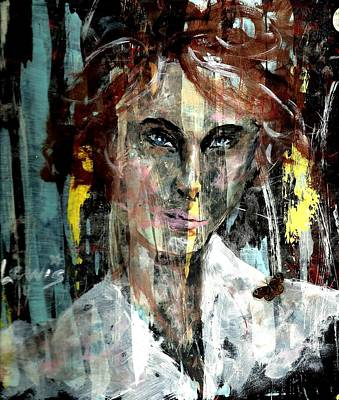 Mental Painting - Her Own Mind by P J Lewis