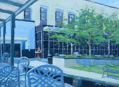Frist Center Painting - Here Comes Lunch by Sandra Harris