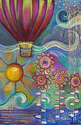 Here Comes The Sun Print by Carla Bank