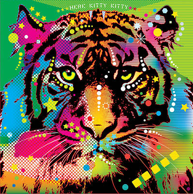 Here Kitty Kitty Print by Gary Grayson