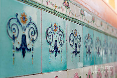 Ceramic Tile Photograph - Heritage by Ivy Ho