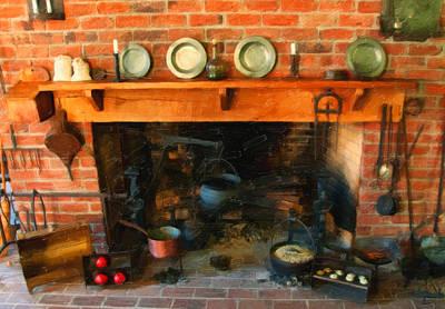 Heritage Kitchen Print by Chris Flees