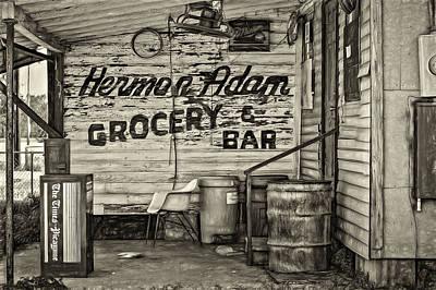 Herman Had It All - Sepia Print by Steve Harrington