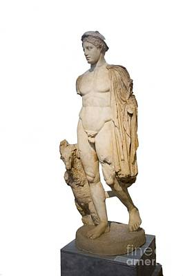 Hermes Statue, Athens Print by Photostock-israel