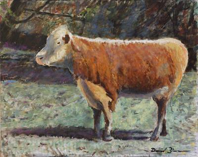Steer Painting - Hero by David Zimmerman