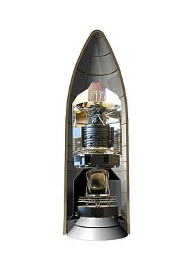 Configuration Photograph - Herschel & Planck Launch Configuration by Science Source