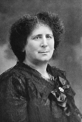 Hertha Marks Ayrton Print by Science Photo Library