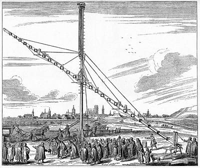 Danzig Photograph - Hevelius' 150-foot Telescope by Cci Archives