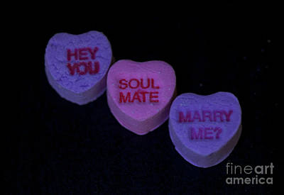 Be My Valentine Digital Art - Hey You ... by Nicole Markmann Nelson