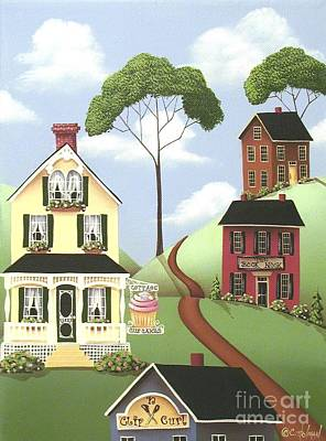 Hickory Grove Print by Catherine Holman