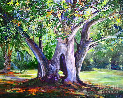 Cute Painting - Hickory Hole by AnnaJo Vahle