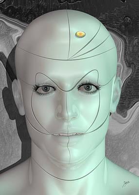 Robotics Mixed Media - Robot Pleasure by Quim Abella