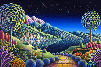 Otherworldly Painting - Hidden Lake 22 by Andy Russell