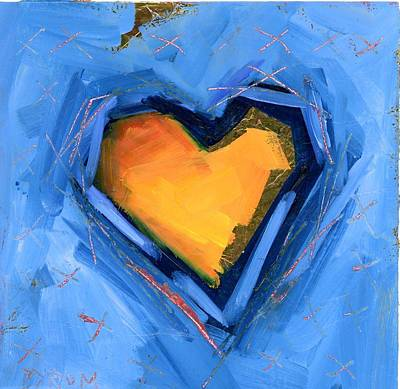 Painting - Hidden Love by Mary Byrom