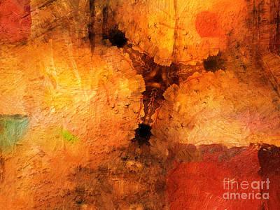 Artistic Painting - Hidden Power by Lutz Baar