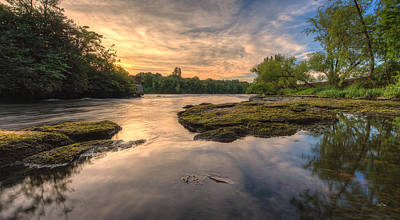 Hidden River Print by Everet Regal