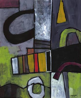 Expressionist Painting - Hidden Treasures by Douglas Simonson